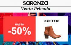 Hasta un 50% de descuento en la marca Geox en Sarenza