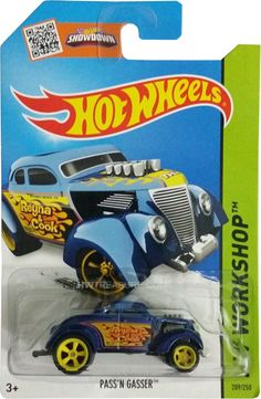 """is part of the HW Workshop series and the 2015 Super Treasure Hunt set. The Spectraflame blue car features yellow flames and """"TH"""" on the hood. Hot Wheels Treasure Hunt, Super Treasure Hunt, Hot Wheels Cars, Small Cars, Hot Rods, Diecast, Monster Trucks, Airplanes, Christian"""