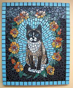 Mosaic Garden Art, Mosaic Tile Art, Mosaic Artwork, Mosaic Diy, Mosaic Crafts, Mosaic Projects, Mosaic Glass, Glass Art, Stained Glass