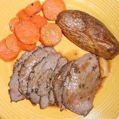 Chef John's Peppercorn Roast Beef