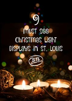 Christmas lights in St. Louis