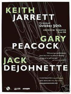 Keith Jarrett, Gary Peacock, Jack DeJohnette Oct. 30. 2001