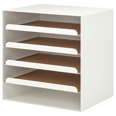 Ikea Storage, Small Storage, Paper Storage, Storage Chest, Storage Ideas, Range Document, Ikea Linnmon, Style Blanc, Kallax Shelf