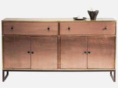 Komoda Rivet Copper — Komody — KARE® Design