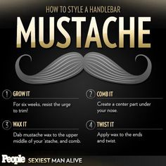 How to style a handlebar mustache Mustache Grooming, Shaving & Grooming, Men's Grooming, Handlebar Mustache, Beard No Mustache, Mustache Styles, Beards And Mustaches, Moustaches, Beard Balm