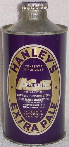HANLEY'S EXTRA PALE ALE , Providence RI