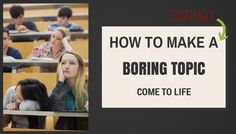 How to make a seemingly boring topic come alive – Teaching in Higher Ed Find Picture, How I Feel, Social Media Tips, Time Management, Economics, How To Fall Asleep, Hold On, High School, Classroom
