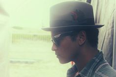 An excerpt from the new Bruno Mars South American Tour Diary Gallery.