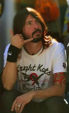 Dave Grohl- yes I will call you!