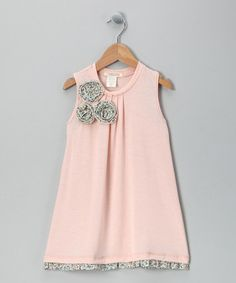 Blush Blossom Dress - Toddler by Cavelle Kids on #zulily #cutiestyle