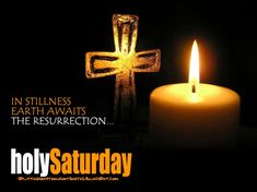 Holy Saturday or Holy Black Saturday is sacred as the day that the Lord is asleep in silence. It commemorates the day that Jesus Christ's body lay in the tomb. Black Saturday Holy Week, Black Saturday Quotes, Saturday Pictures, Its Friday Quotes, Morning Pictures, Good Friday Images, Happy Good Friday, Happy Saturday, Facebook Image