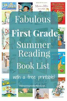First Grade Summer Reading Book List – Maintaining Motherhood