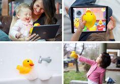 edwin the smart Duck il giocattolo e  l'app educative