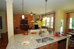 Large Kitchen Islands! @Massey Estates