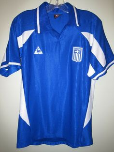 5eec993bb eBay  Sponsored vintage NIKOLAIDIS  11 GREECE 2000-01 Le Coq Sportif home  football