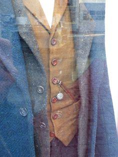 Newt Scamander Fantastic Beasts waistcoat costume detail