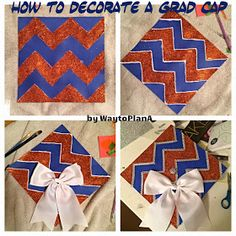 One of the best articles I've found on how to decorate your cap. SOOO many great tips! Heading to craft store tomorrow to try these tips out.