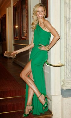 Vestido verde , love