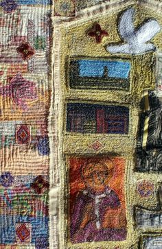 Textile art by Anne Kelly