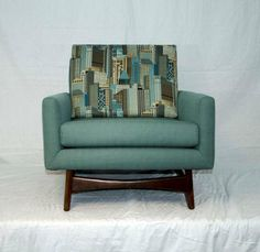 Mid Century Lounge Chair - Adrian Pearsall image 4