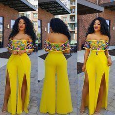 Monica jumpsuit model is wearing a medium African Print Jumpsuit, African Print Dresses, African Dress, African Fashion Ankara, Latest African Fashion Dresses, African Print Fashion, African Attire, African Wear, Curvy Girl Fashion