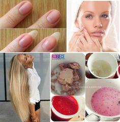 Mocniejsze paznokcie, szybszy porost włosów,  ładniejsza cera... Takie CUDA tylko dzięki...