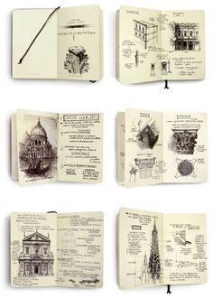 Architecture - Sketchbook drawings by Chema Pastrana