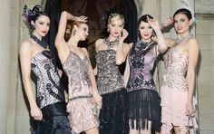 The Great Gatsby - Fashion style, flapper dressers