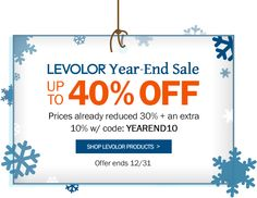 Save up to 40% off Levolor brand blinds and shades!