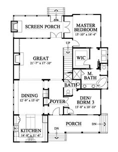Add a basement and perfect House Rooms Luxury House Rooms iDeas Beach House Floor Plans, Cottage Floor Plans, Home Design Floor Plans, Dream House Plans, Up House, House Rooms, Cabin Design, House Design, Small Beach Houses