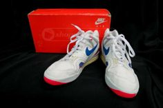 the best attitude 8f90a 636a9 shopgoodwill.com Nike Air Tech Challenge Sports Shoes, Size 11.5 Sports  Shoes,