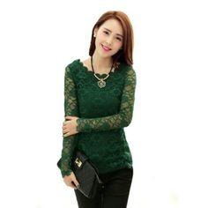 Green Lace Top - Citizen Mart