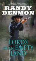 Cover image for Lords of an Empty Land.