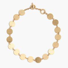 Disc Choker Necklace