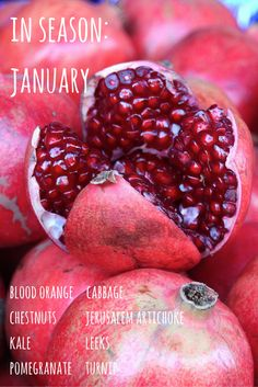 Enjoy fruit and vegetables at their best and save money by eating seasonally. Here's what's in season in January.