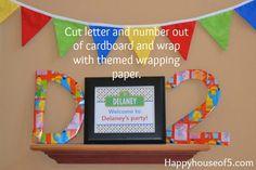 Sesame Street Birthday Party - Happy House of 5