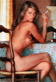 Helmut Newton, Portrait of Charlotte on ArtStack #helmut-newton #art