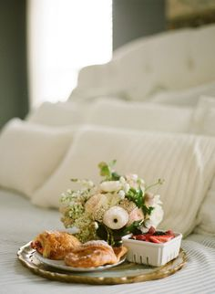 Breakfast in bed is always a good idea