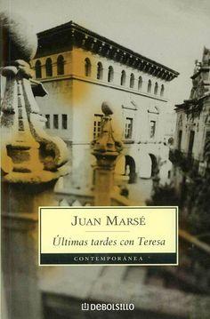 EL LIBRO DEL DÍA    Últimas tardes con Teresa, de Juan Marsé  http://www.quelibroleo.com/ultimas-tardes-con-teresa 19-12-2012