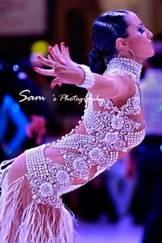 Gorgeous Dress! #latindance  #ballroom