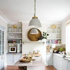 bright and fresh kitchen
