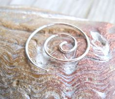 925 Sterling Silver Spiral Earring Gauge by PavlosHandmadeStudio