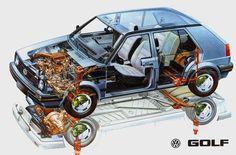 VW Golf MK2 | Volkswagen Golf