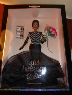 1999 40th Anniversary Barbie #22336
