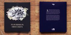 Flourish in obscurity – childbook cover by Lara Bispinck, via Behance