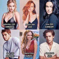 Riverdale cast birthday and mines August Kj Apa Riverdale, Riverdale Poster, Riverdale Quotes, Riverdale Archie, Riverdale Aesthetic, Riverdale Funny, Riverdale Netflix, Riverdale Wallpaper Iphone, Greys Anatomy