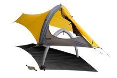 欲しい/ソロキャンパーにおすすめ!アメリカのアウトドアメーカー「ニーモ」の「GOGO Elite Tent」。なんとその最小重量はiPa...