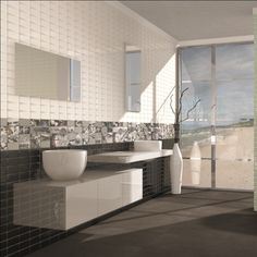 York black wall tiles are ideal as black kitchen tiles or black bathroom tiles. These black gloss tiles have a brick effect and are perfect as splashback tiles. The Direct Tile Warehouse team will be pleased to provide advice on how to use these tiles.