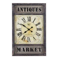 Antiques Market Clock