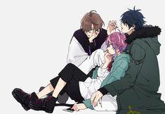 Animation Storyboard, Anime Friendship, Rap Battle, Drawing Reference, Anime Couples, Anime Guys, Manga Anime, Fan Art, Cartoon